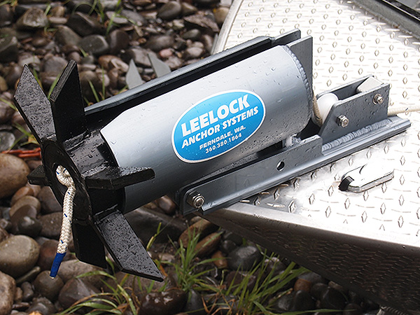 """LeeLock #LCA-02 Anchor Can Assembly with 1/2"""" Lock shown w/Can Anchor"""